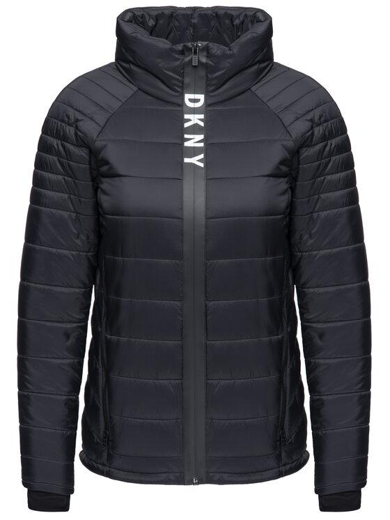 DKNY Sport DKNY Sport Pehelykabát DP8J8282 Fekete Regular Fit