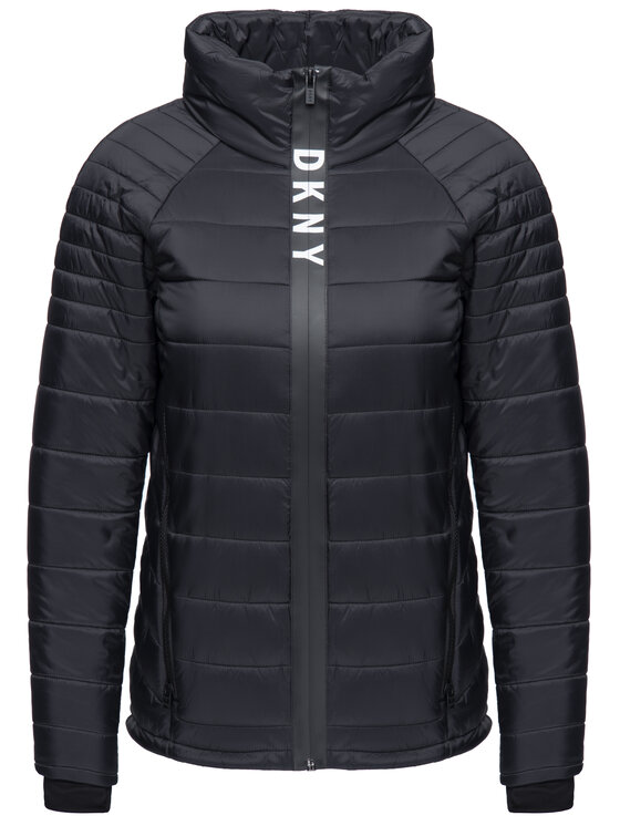 DKNY Sport DKNY Sport Vatovaná bunda DP8J8282 Čierna Regular Fit