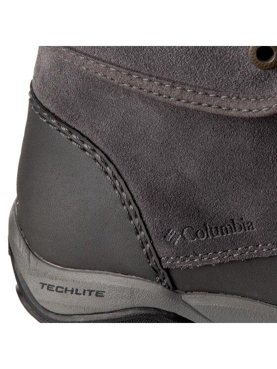 Columbia Columbia Trekingová obuv Cityside Fold Waterproof BL1672 Šedá