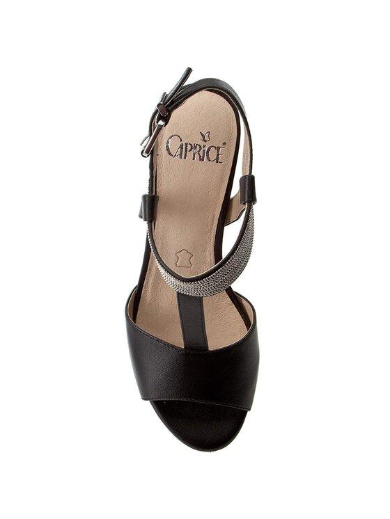 Caprice Caprice Sandały 9-28301-28 Czarny