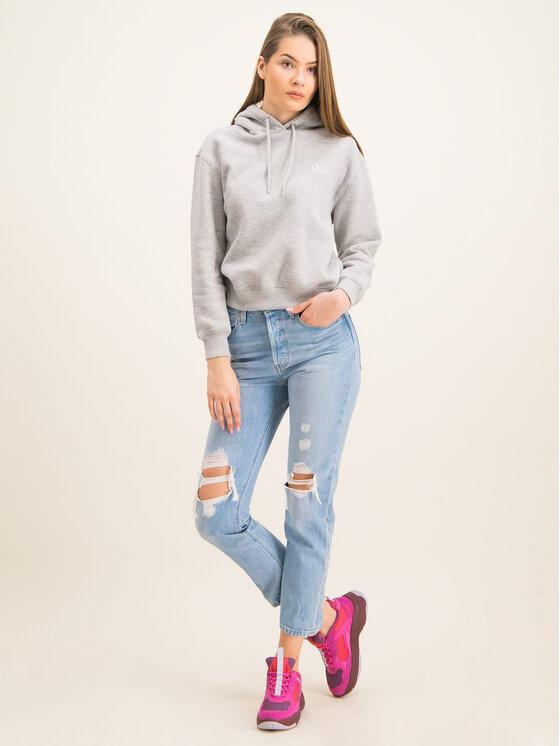 Calvin Klein Jeans Calvin Klein Jeans Mikina Embroidered Logo J20J213178 Šedá Regular Fit