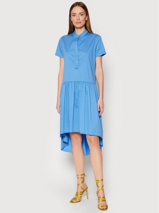 Rinascimento Kasdieninė suknelė CFC0103381003 Mėlyna Regular Fit