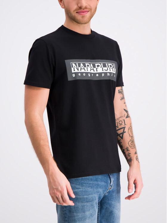 Napapijri Napapijri T-Shirt Sele N0YIEI Schwarz Regular Fit