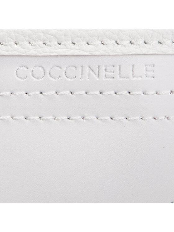 Coccinelle Coccinelle Дамска чанта DJ2 C Bag Traforo Rombi Maxi E1 DJ2 18 01 01 Бял