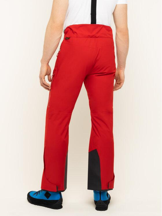 Jack Wolfskin Jack Wolfskin Pantaloni da sci Big White 1112051-2102 Rosso Regular Fit