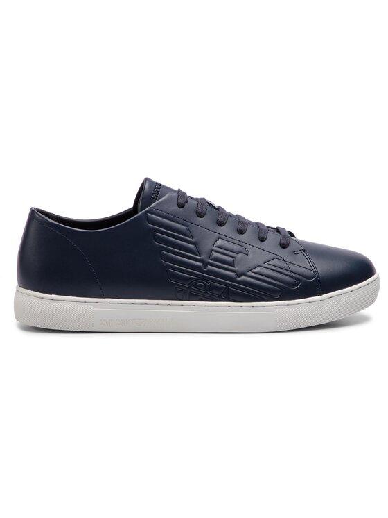 Emporio Armani Emporio Armani Sneakersy X4X238 XF332 00006 Tmavomodrá