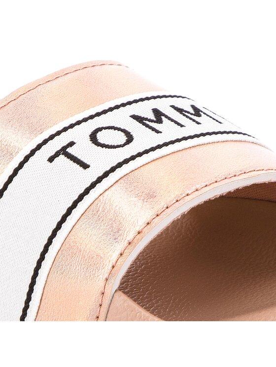 Tommy Hilfiger Tommy Hilfiger Ciabatte Mirror Sparkle Beach Slide FW0FW03038 Rosa