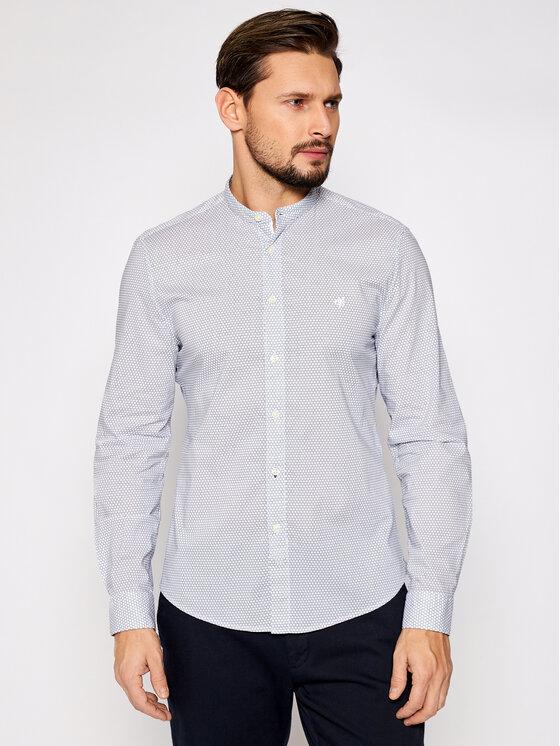 Marc O'Polo Koszula 121 7275 42206 Biały Shaped Fit