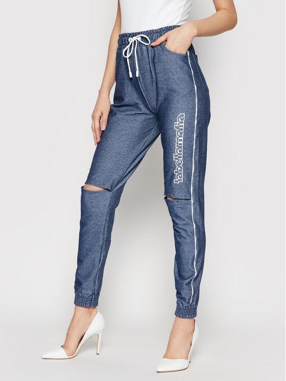 LaBellaMafia Sportinės kelnės 21251 Mėlyna Regular Fit