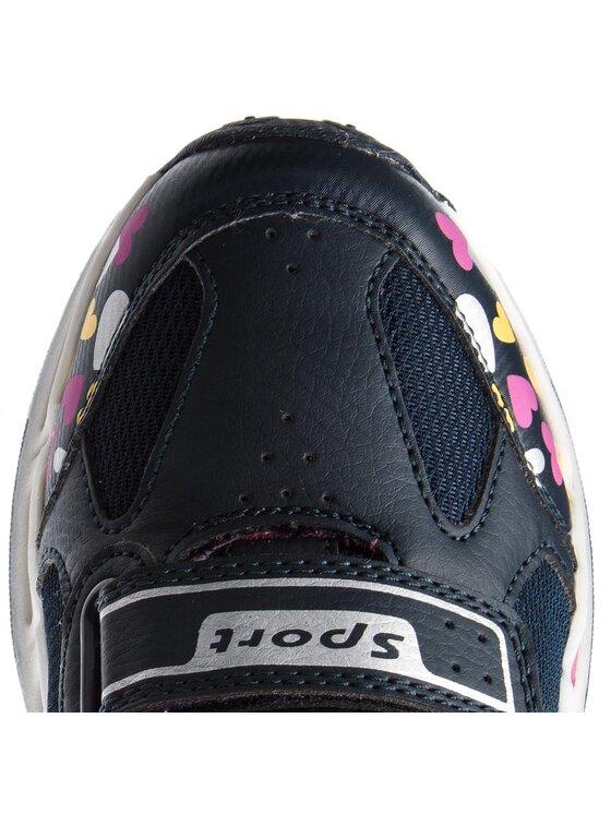 Geox Geox Sneakersy J Shuttle G. D J8206D 014BU C4268 DD Tmavomodrá