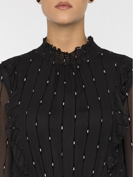Silvian Heach Silvian Heach Koktejlové šaty CVA19186VE Černá Regular Fit