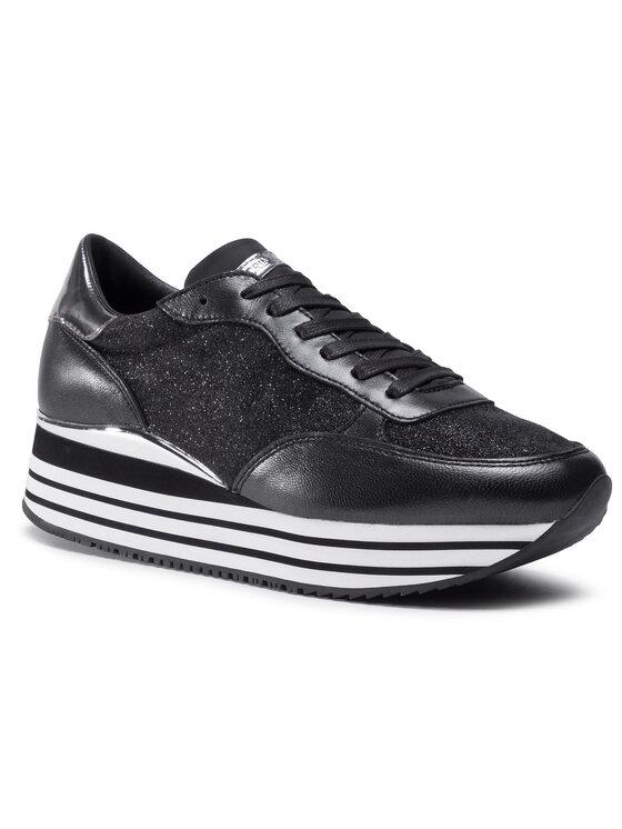 Crime London Laisvalaikio batai Stripe Runner 25916AA3.20 Juoda