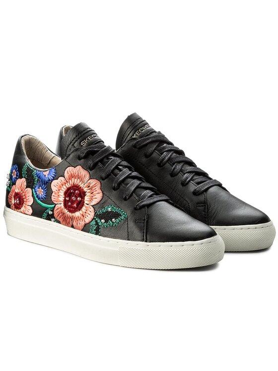 Skechers Skechers Sneakersy Flor 48876/BLK Czarny