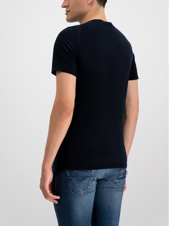 Guess Guess T-Shirt M93I45 R5JK0 Czarny Slim Fit
