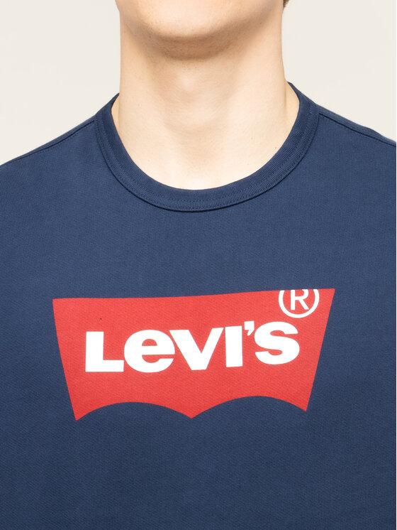 Levi's® Levi's® Sweatshirt Graphic Crew 17895-0079 Dunkelblau Regular Fit