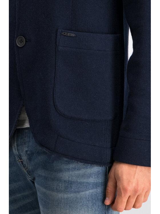 Guess Guess Sweter M94R34 Z2HU0 Granatowy Regular Fit
