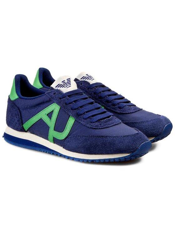 Armani Jeans Armani Jeans Laisvalaikio batai Z6528 31 5G Mėlyna