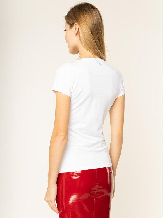 Guess Guess Marškinėliai Icon W01I20 J1300 Balta Regular Fit