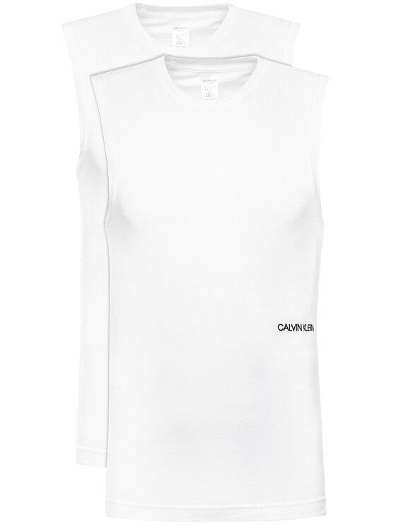 Calvin Klein Underwear 2 marškinėlių komplektas 000QS6199E Balta Regular Fit