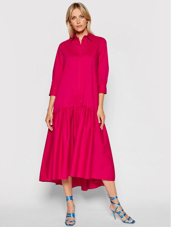 Imperial Sukienka koszulowa A9MYBBE Różowy Regular Fit
