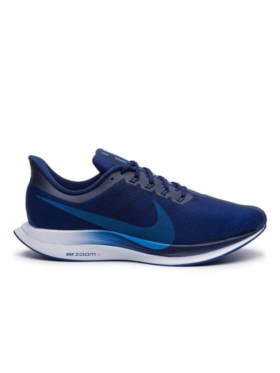 Nike Nike Topánky Zoom Pegasus 35 Turbo AJ4114 400 Tmavomodrá
