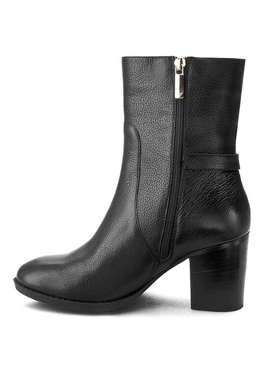 Armani Jeans Armani Jeans Členková obuv B5590 28 12 Čierna