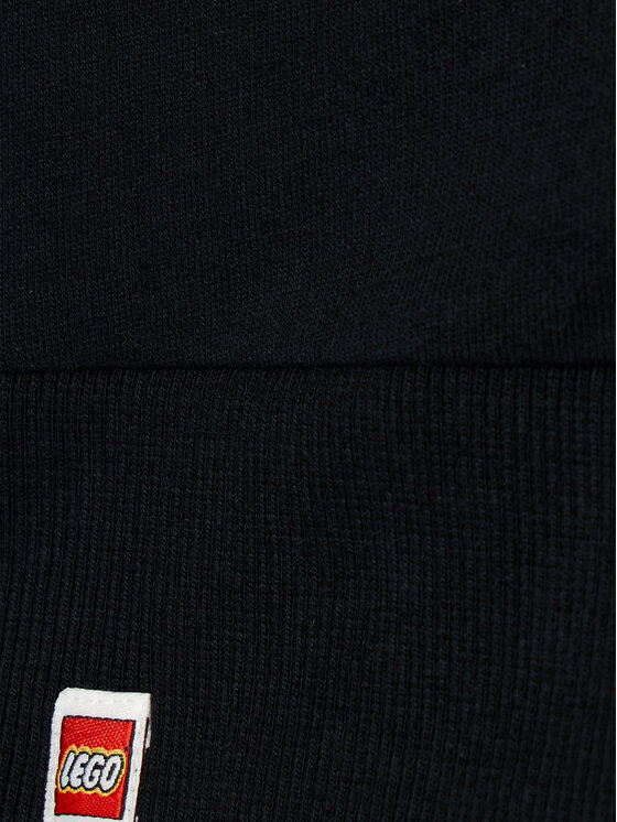 LEGO Wear LEGO Wear Bluza 12010117 Czarny Regular Fit