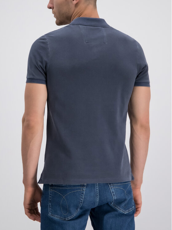 Calvin Klein Jeans Calvin Klein Jeans Polo marškinėliai J30J313566 Tamsiai mėlyna Regular Fit