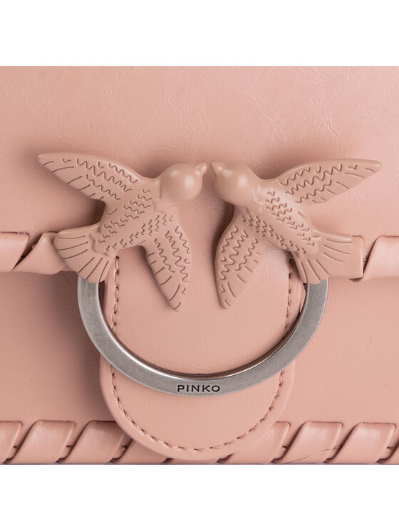 Pinko Pinko Torebka Mini Love Twist 1 AI 19-20 PLTT 1P21E9 Y5GB Różowy