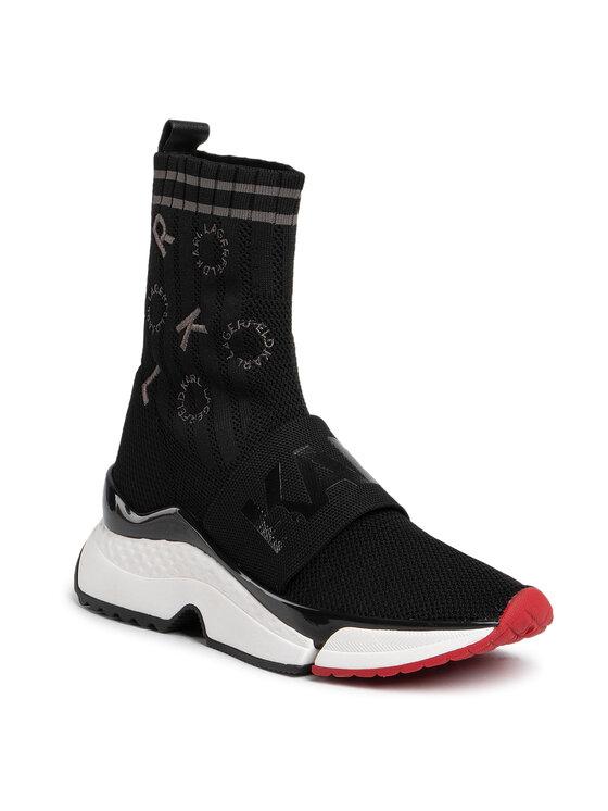 KARL LAGERFELD KARL LAGERFELD Sneakersy KL61661 Černá