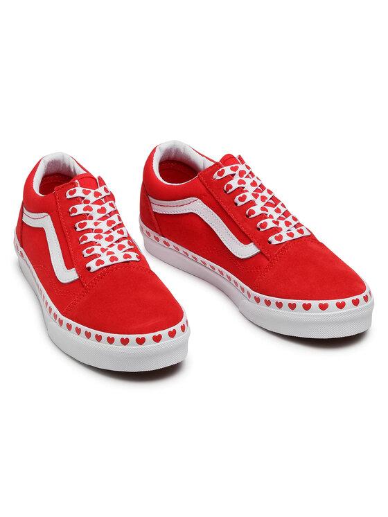 Vans Vans Tenisówki Old Skool VN0A4UHZ30V1 Czerwony
