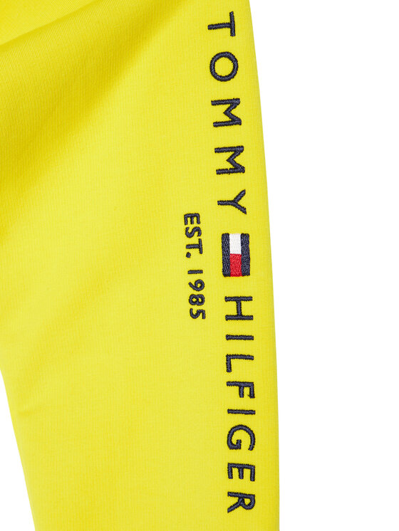 Tommy Hilfiger Tommy Hilfiger Bluza KG0KG05491 D Żółty Regular Fit