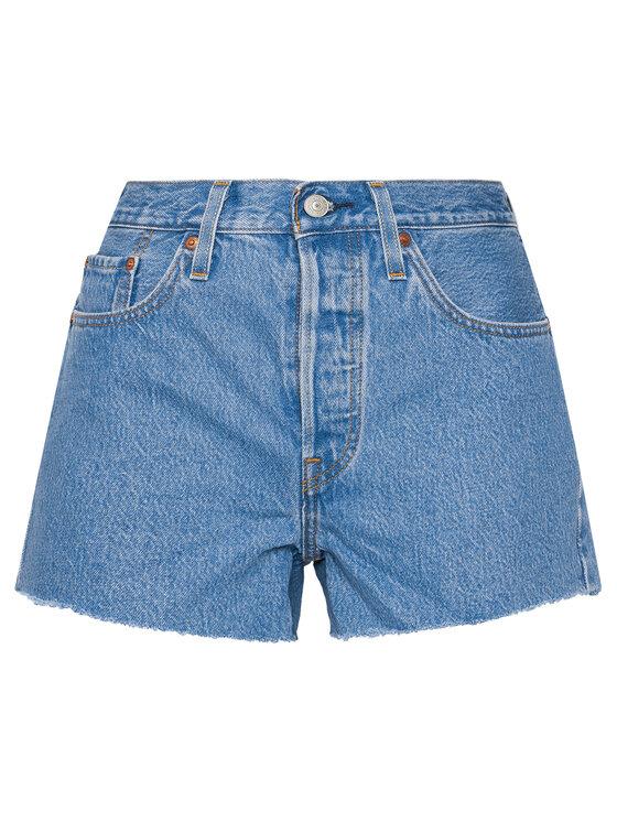 Levi's® Levi's® Szorty jeansowe 501® 56327-0183 Niebieski Slim Fit