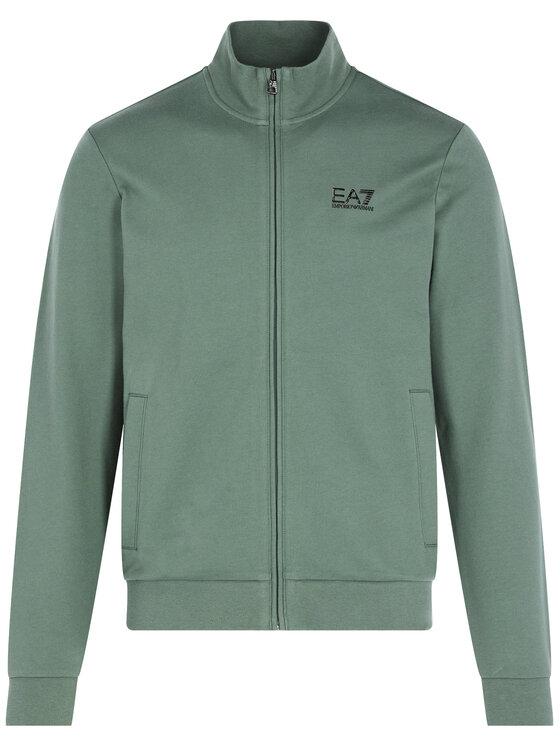 EA7 Emporio Armani EA7 Emporio Armani Bluza 8NPM01 PJ05Z 1858 Zielony Regular Fit