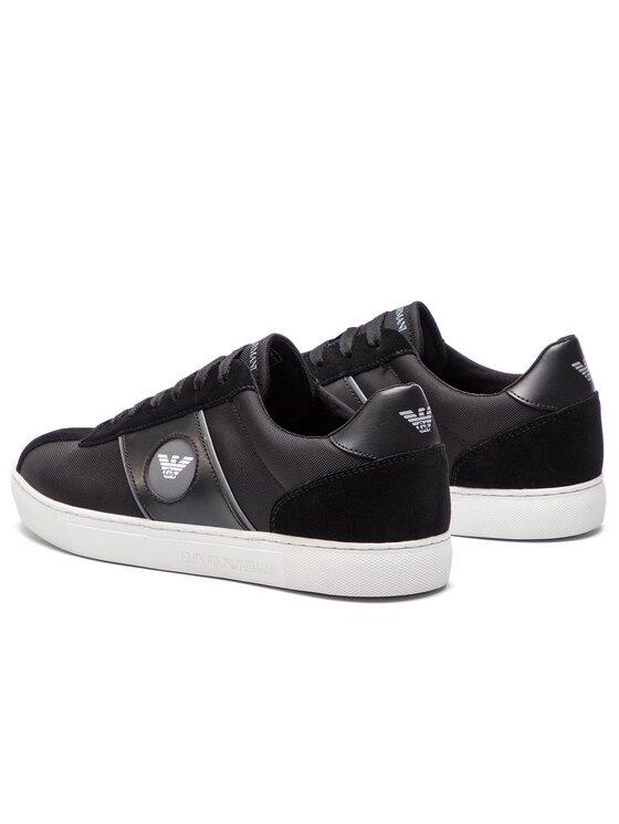 Emporio Armani Emporio Armani Sneakers X4X259 XL708 K003 Negru