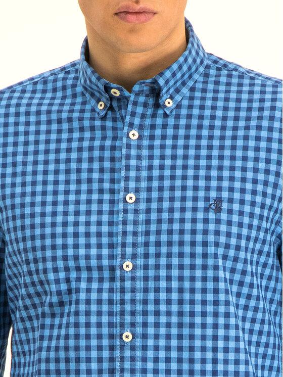 Marc O'Polo Marc O'Polo Marškiniai 020 7028 42140 Tamsiai mėlyna Shaped Fit