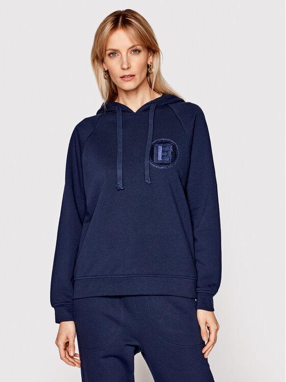 Ermanno Firenze Džemperis FL05FEL Tamsiai mėlyna Regular Fit