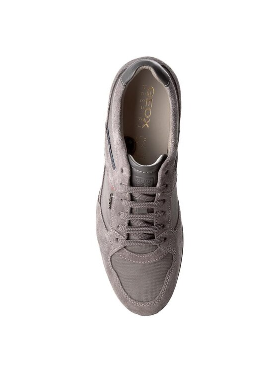 Geox Geox Κλειστά παπούτσια U Symbol A U72A5 A02211 C9004 Γκρι