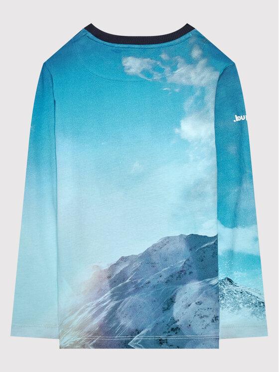 Desigual Desigual Блуза Snow 21WBTK08 Син Regular Fit