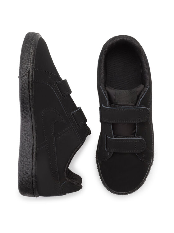 Nike Nike Boty Court Royale (Psv) 833536 001 Černá