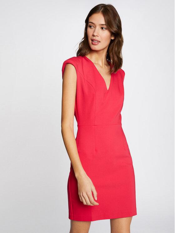 Morgan Kasdieninė suknelė 211-RAFFY.F Rožinė Slim Fit
