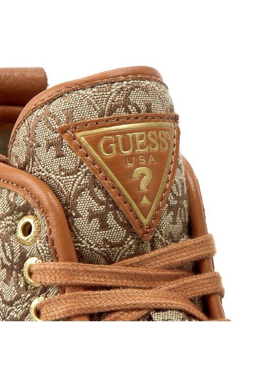 Guess Guess Sneakersy Joel FLJOE3 FAL12 Brązowy