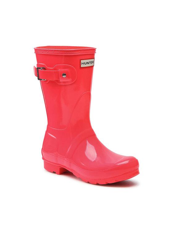 Hunter Guminiai batai Original Short Gloss WFS2000RGL Rožinė