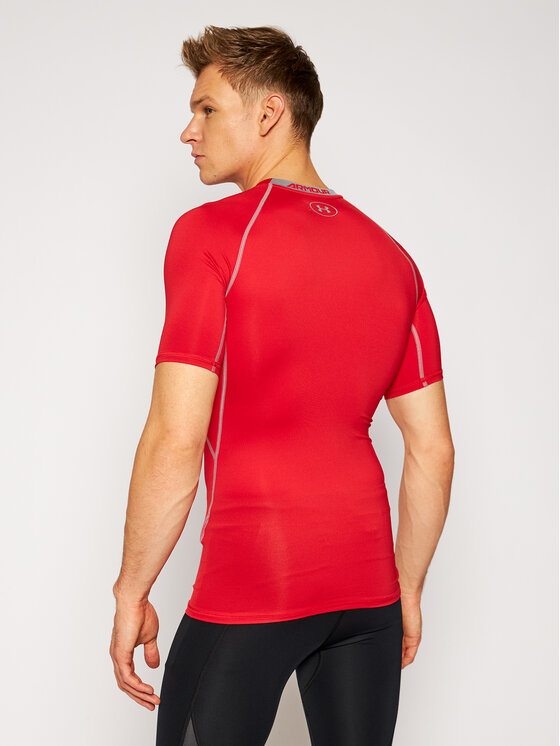Under Armour Under Armour Koszulka techniczna Sleeve Compression 1257468 Czerwony Slim Fit