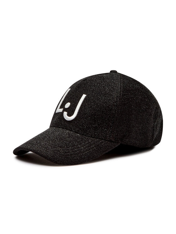 Liu Jo Sport Kepurė su snapeliu TF0222 T0300 Juoda