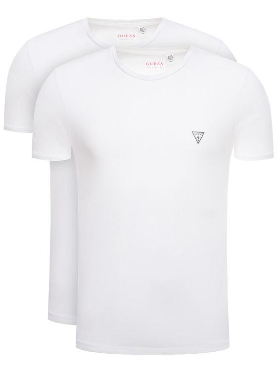 Guess 2 marškinėlių komplektas Hero U97G02 JR003 Balta Slim Fit