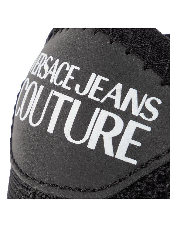 Versace Jeans Couture Versace Jeans Couture Laisvalaikio batai E0YUBSN4 Juoda
