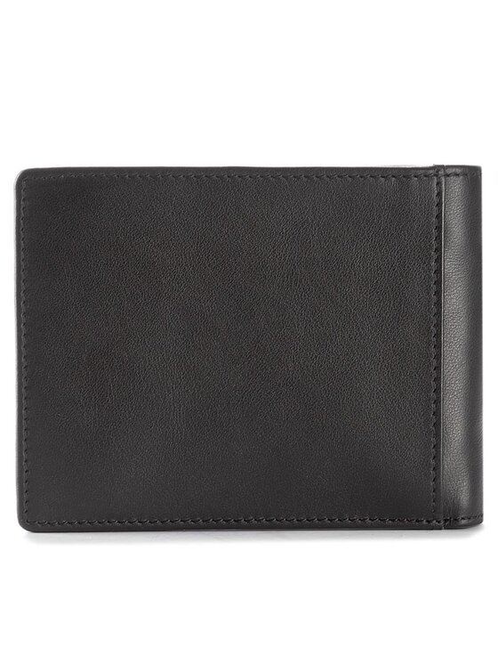 Baldinini Baldinini Veľká pánska peňaženka 676034DAAI17 Čierna