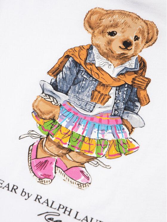 Polo Ralph Lauren Polo Ralph Lauren T-Shirt Bear 311790408 Weiß Regular Fit
