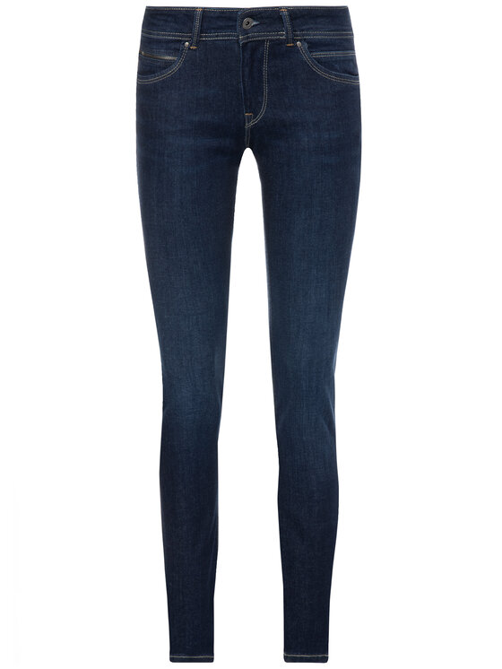 Pepe Jeans Pepe Jeans jeansy_skinny_fit PL200019BA70 Tamsiai mėlyna Slim Fit